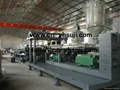 PC wave sheet production line extruder