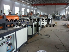 WPC profile extrusion machine,WPC tile/deck extruder machinery