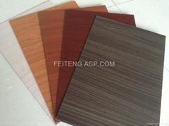 wood stone bamboo aluminum composite panel materials