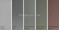 TITANIUM-ZINC aluminum composite panel materials