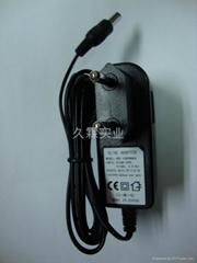 供应厂家直销3.7V聚合物锂电池插墙式4.2V1A充电器