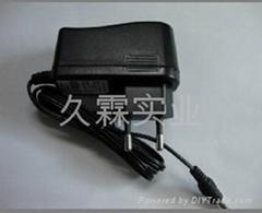 供应厂家直销12V0.5A欧规电源适配器