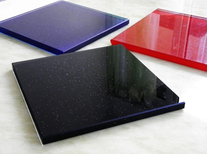 1200x900mm tempered glass table top panel