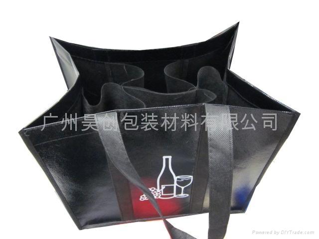 覆膜無紡布紅酒袋 2