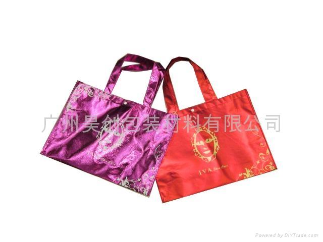 鍍鋁膜無紡布環保購物袋 1