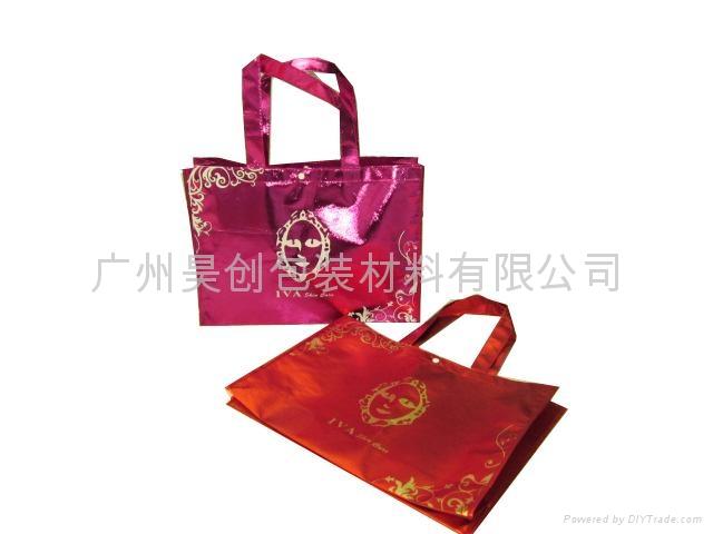 鍍鋁膜無紡布環保購物袋 4