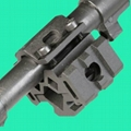 GP-0018 Universal Tri-rail barrel mount with Laser Clamp