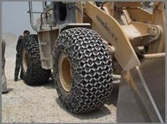 装载机轮胎保护链