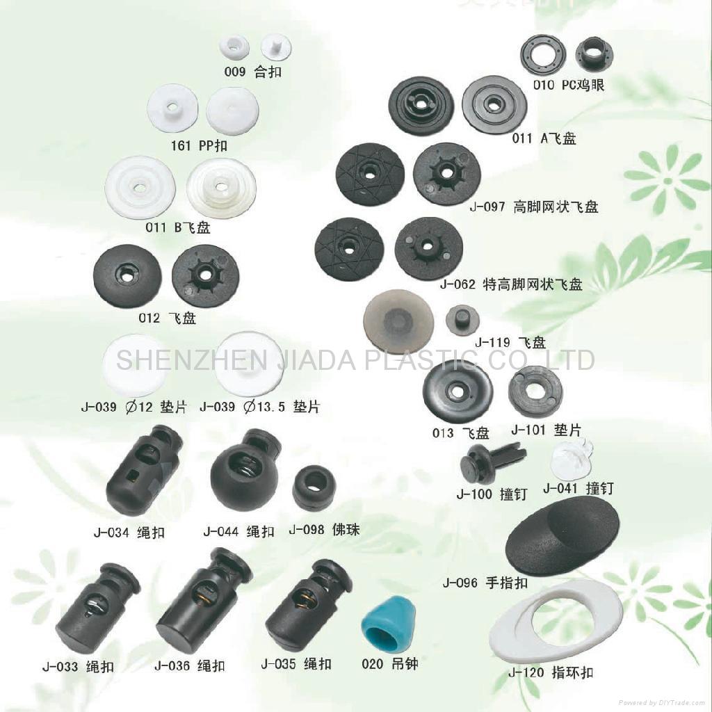 plastic stopper, plastic rivet, plastic gasket for stationery & bag ...