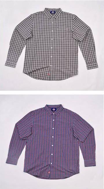 时尚格子衬衫 1