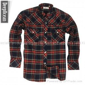 红色格子衬衫 1