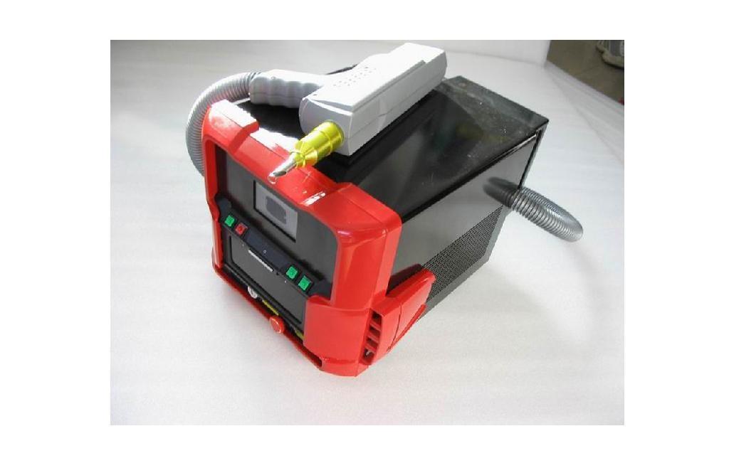 Nd yag mini laser tattoo removal machine nd 506 china for What is the best tattoo removal laser machine
