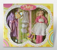 高品質實身芭比/玩具娃娃/盒裝娃娃