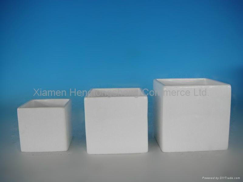White ceramic flower pots hts china manufacturer household white ceramic flower pots 1 mightylinksfo