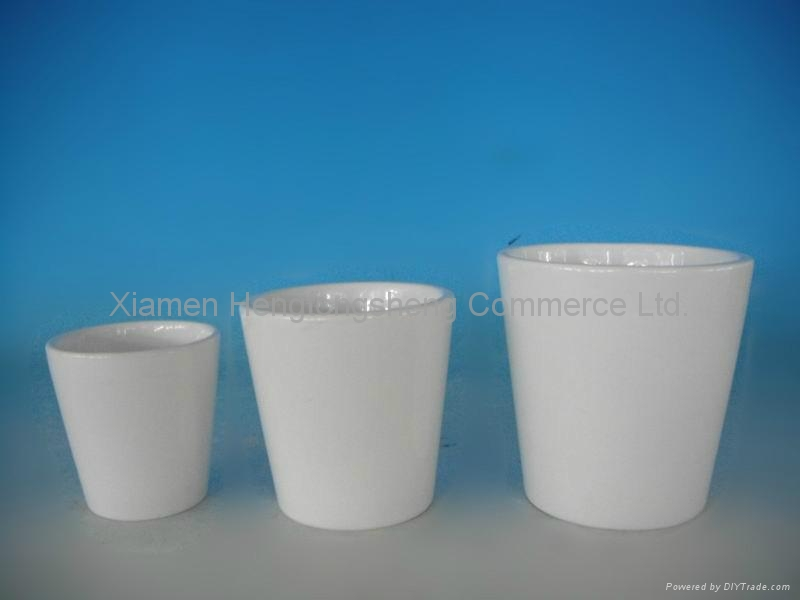 White ceramic flower pots hts china manufacturer household white ceramic flower pots 3 mightylinksfo