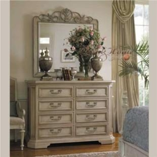 French Style Furniture Solid Wood Furniture Dressing Table