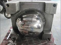 ballistic helmet mold