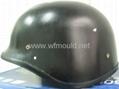 Kevlar ballistic helmet mold