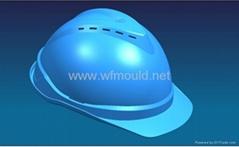 PE Safety Helmet Mould