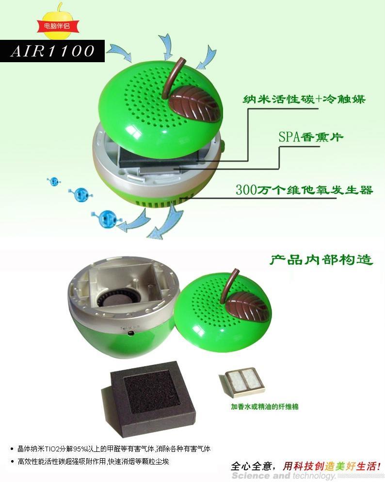 桌面式空氣淨化器 4