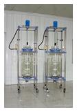 quality glass reactor--100L