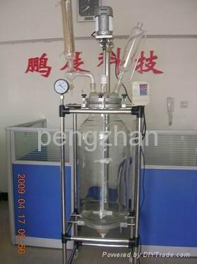 quality glass reactor--100L 2