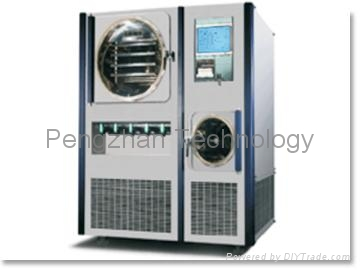 Vacuum Freeze Dryer-IndustrySeries (pre-freeze,Defrosting,Safety stoppering) 1