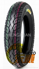 Tubeless motorcycle tire