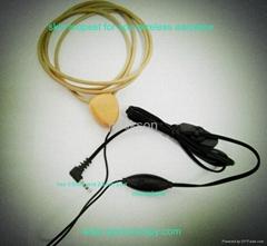 skin loopset for mini wireless earpiece