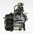 utv engine with CVT gearbox