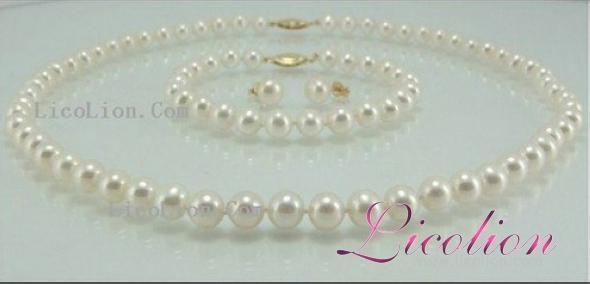 Wholesales 10.5-11.5mm multi-colors long potato shape pearl necklace & Pearl bra 3