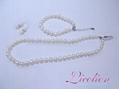 Wholesales 10.5-11.5mm multi-colors long potato shape pearl necklace & Pearl bra 5