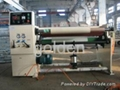single shaft rewinding machine