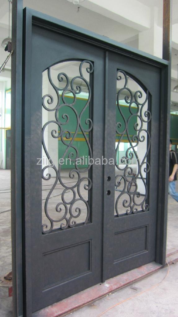 Security doors wrought iron door
