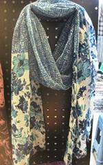 Fashion long polyester scarf