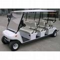 6座電動高爾夫會所車
