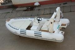 4.8m RIB boat rigid infl