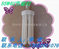 燈座型分體式55W節能燈