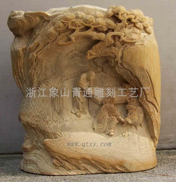 绝美的竹雕艺术品 5 - h_x_y_123456 - 何晓昱的艺术博客