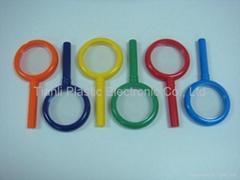 Sell Plastic Hand Lenses Magnifier Reading Glass Eye Gauge Loupe