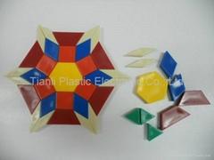 Plastic Educational Resources-Pattern Blocks