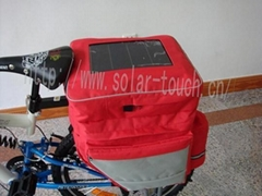 solar bicycle bag-std008