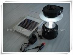 solar camping lantern-STJ001