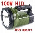 100W xenon working lamp Spotlight HID