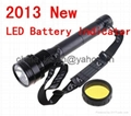 2013 with LED Battery Indicator 85W HID SOS XENON FLASHLIGHT