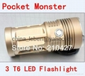 CREE XML-T6 Pocket Monster aluminum LED