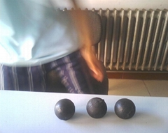LOW CHROMIUM ALLOYED CAPSUIE BALLS