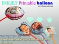 DIY Photo Balloons  inkjet printable balloons magic balloon