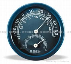 德福 溫濕度計 TH108( 白 / 蘭 )