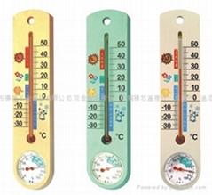 德福 溫濕度計 G337 (黃/綠/灰)